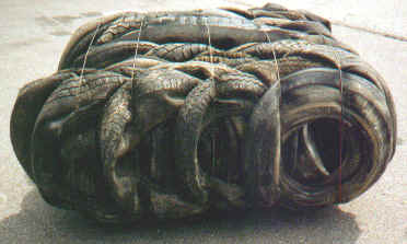 Tire Bales A Civil Engineering Building Block